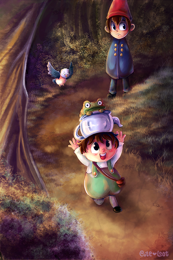 Over The Garden Wall by cute-loot