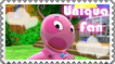 Uniqua Fan by Backyardigans-Stamps