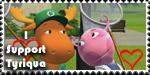 I Support Tyriqua by Backyardigans-Stamps