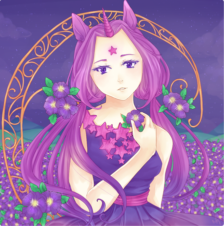 Starlight Flowers by Elieda
