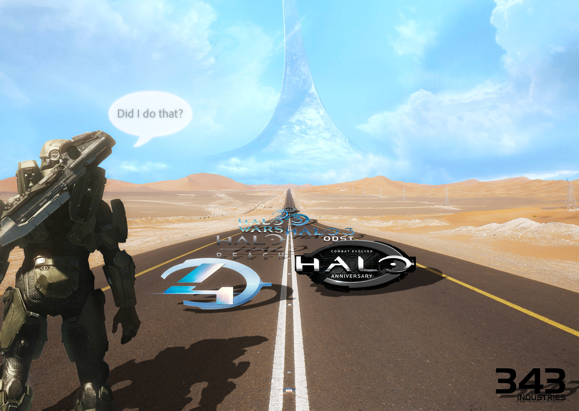 The Road of Halo by Billy619
