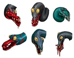 Eelmen 2, head designs.