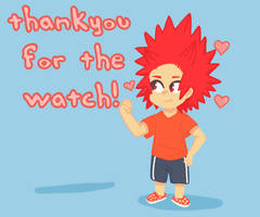 thankyou for the watch!XD#kirishima eijirou