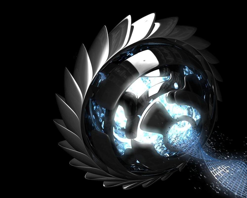 Blue-Orb by justinsub7