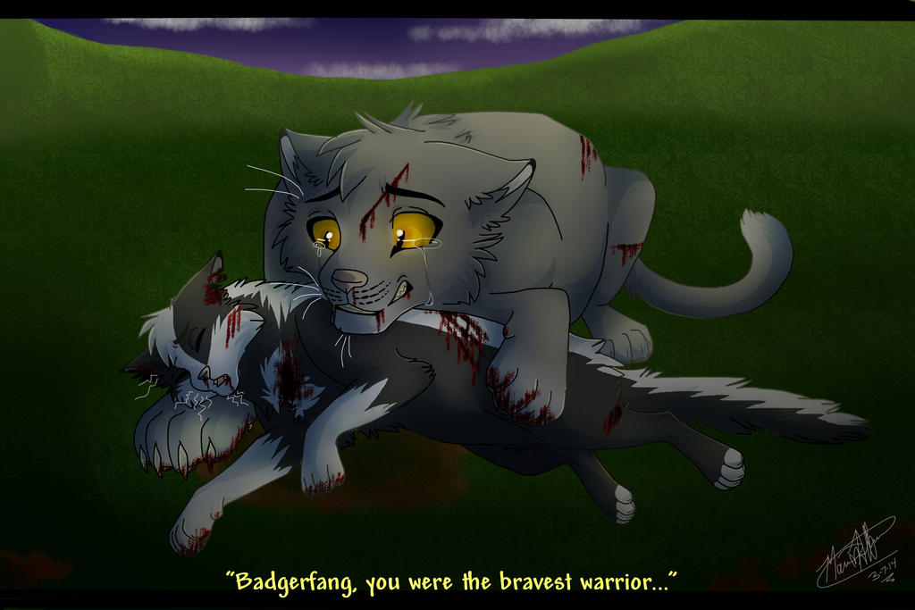 Badgerfang S Death By Warrior Junkie On Deviantart