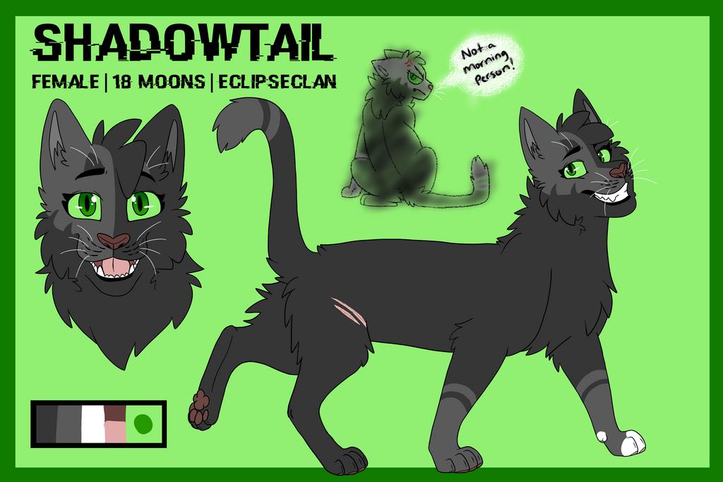 Shadowtail [ref sheet] by Warrior-Junkie