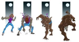 Old School Werewolf Tf 05-2 by FullMoonMaster