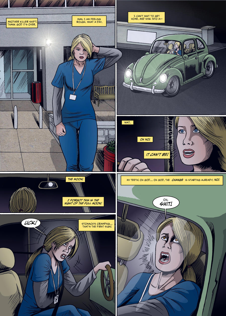 Displaying 19> Images For - Werewolf Girl Transformation Nora...