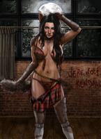Tattered Kilt Girl Entry #17: Kendall by FullMoonMaster