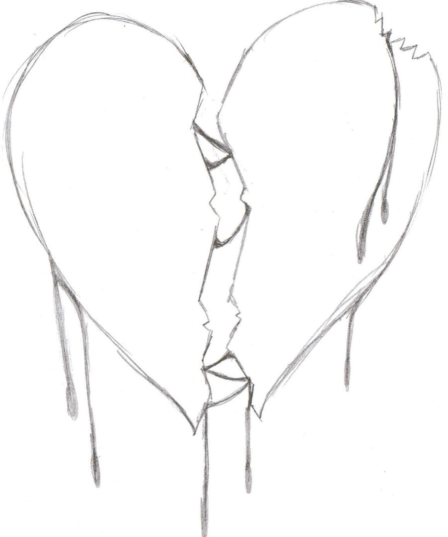 coloring pages broken freecoloring4u com Broken Hearts Coloring Pages for Teens  Broken Heart Coloring Pictures