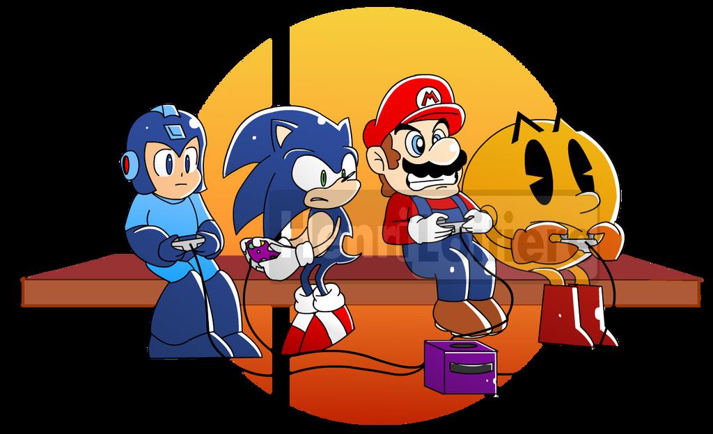 Super Smash Bros. by Mariohenri