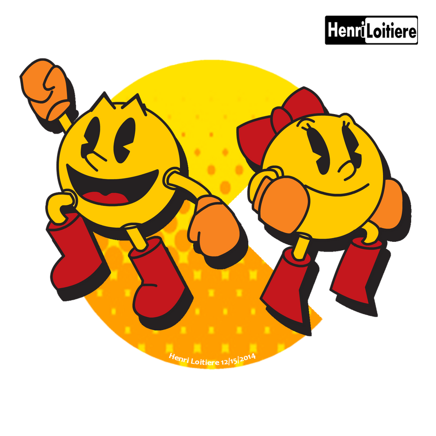 Fullscreen - Ms Pacman - Wall of Game