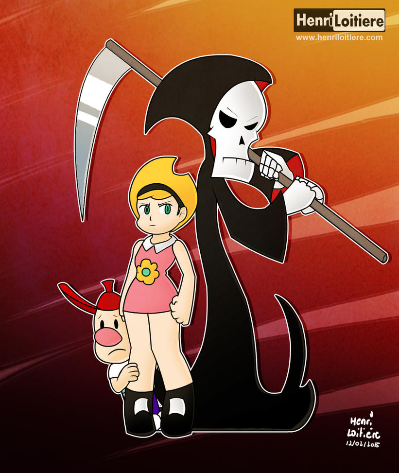 The Grim adventures of Billy and Mandy by Mariohenri