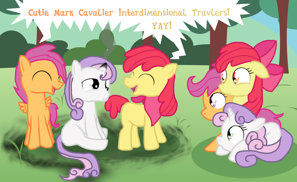The Cutie Mark Cavaliers by Dazed-and-Wandering