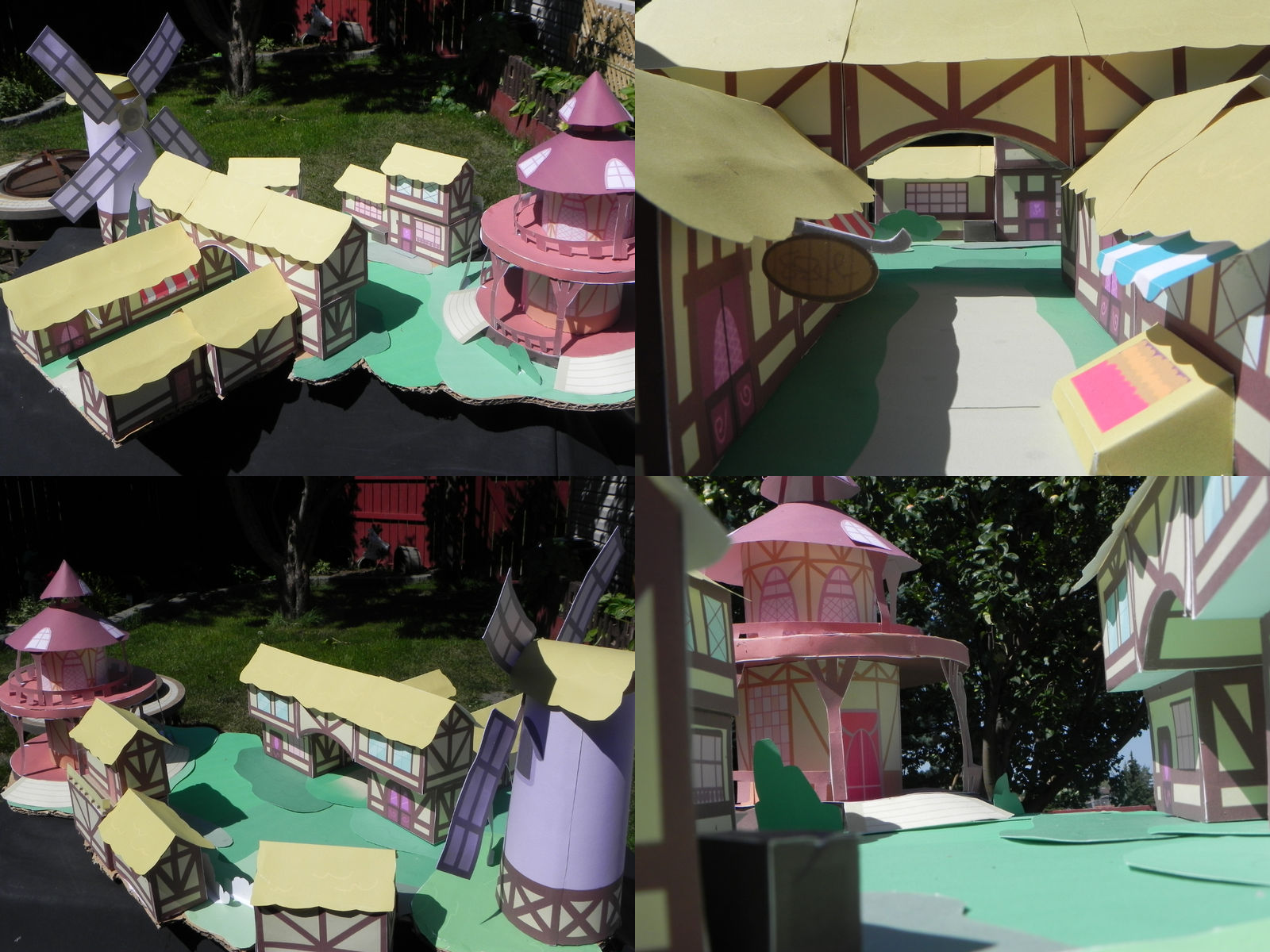 Paper Ponyville-Finished