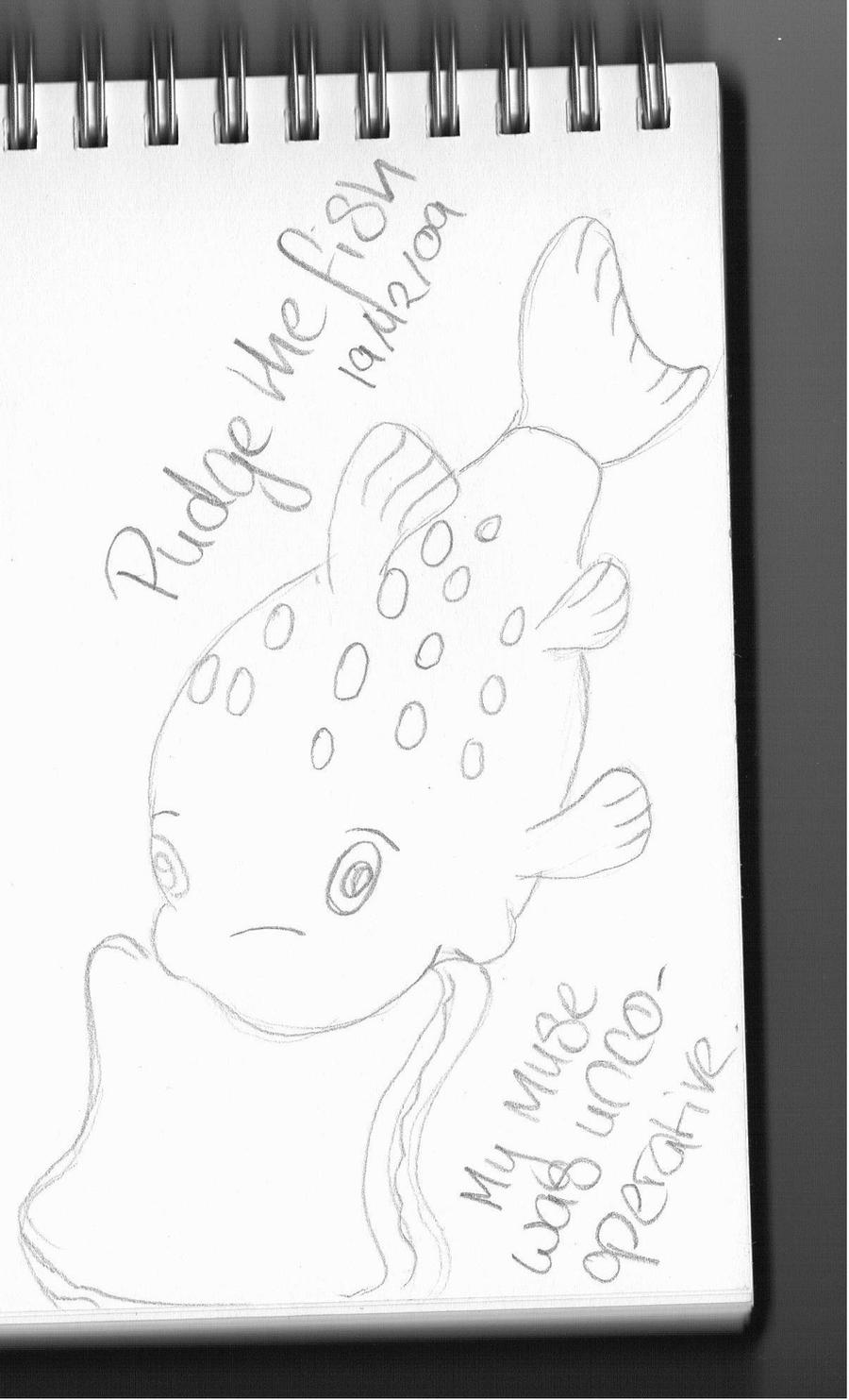 Pudge the fish by lannysaurus on deviantart for Pudge the fish