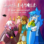 Slightly Damned's 15th anniversary