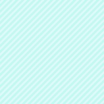 Teal Diagonal Striped