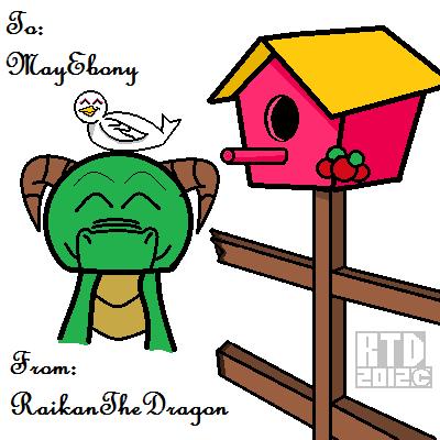 MayEbony's Gift by RaikanEarthDragon