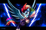 Zapp (Rainbow Dash) [Power Ponies] by Darksly-z