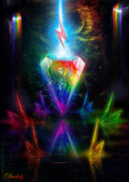 Rainbow Dash Crystallized by Darksly-z