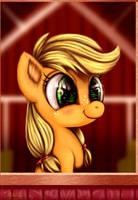 Applejack Filly by Darksly-z