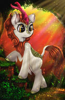 Autumn Blaze The Kirin by Darksly-z