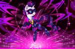 Radiance (Rarity)[Power Ponies] by Darksly-z