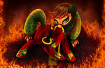 Mistress Mare-velous (Applejack)[Power Ponies] by Darksly-z
