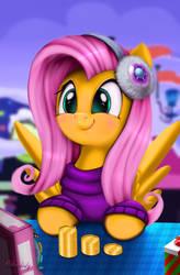 Holly The Hearths Warmer Doll (Fluttershy) by Darksly-z