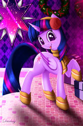 Twilight Sparkle - Best Gift Ever Outfit by Darksly-z