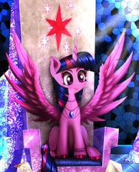 Twilight's Throne [Comm Reward] by Darksly-z