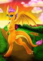 Smolder The Dragon by Darksly-z