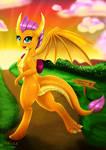 Smolder The Dragon
