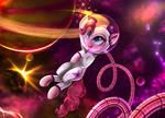 Pinkie Astronaut