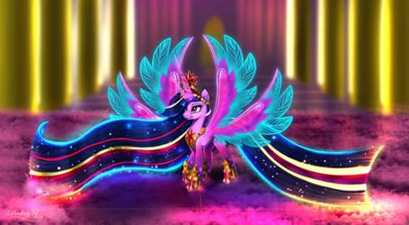 Rainbow Power Queen [Comm]