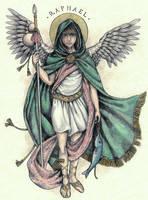 Archangel Raphael by Muko-kun