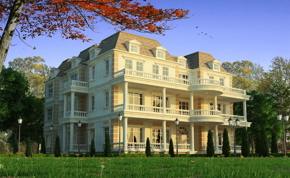 Classic Villa by crystalrain2702