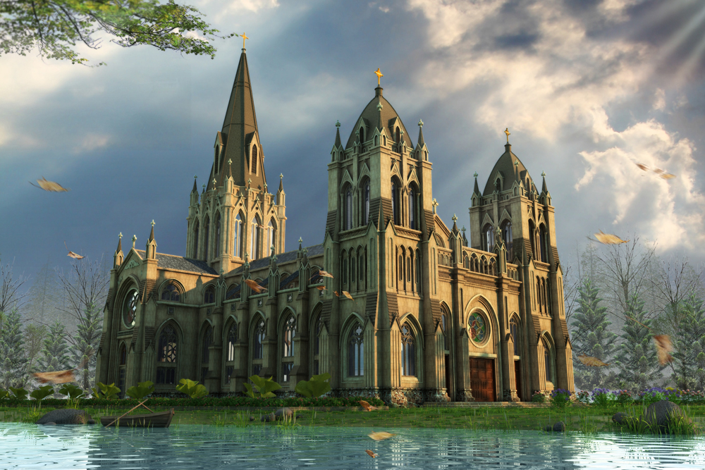 Cathedral by crystalrain2702