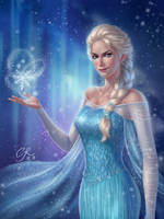 Elsa by crystalrain272