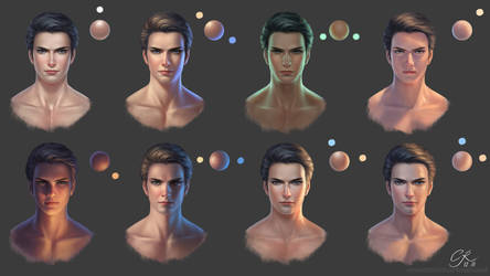 Lighting Reference for Face