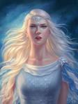 Commission: Wind Goddess
