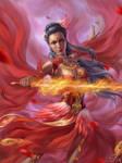 Commission: Cr'ia The Phoenix