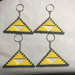 Triforce Keychains by BigPandaCreations