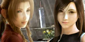 Aerith and Tifa