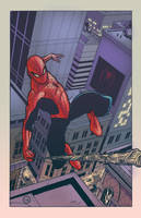 Young-Art Spider-man colours by AndrewKwan