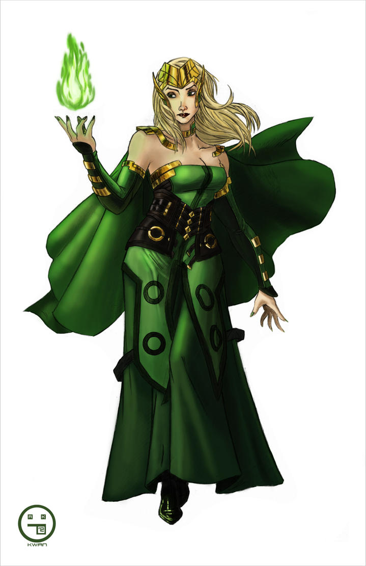 Enchantress Marvel Cinematic Universe by AndrewKwan on ...