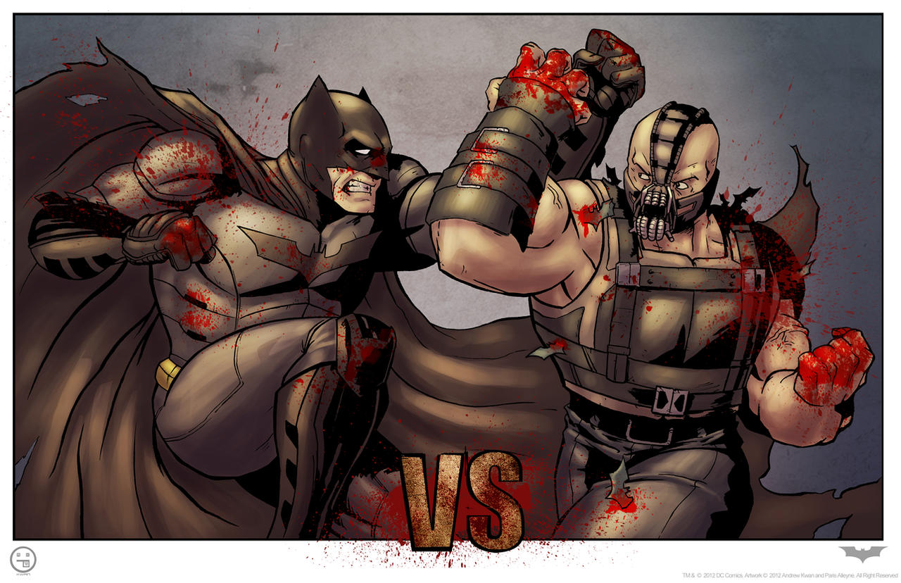 The Dark Knight Rises (bloody variant) by AndrewKwan
