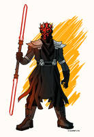 Darth Maul by AndrewKwan