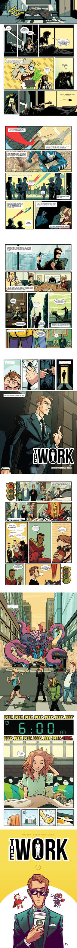THE WORK Teaser Pages by AndrewKwan